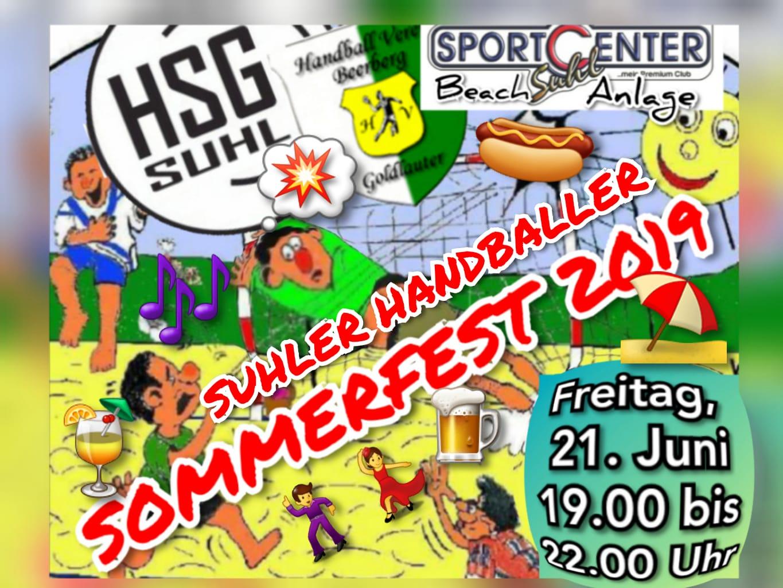 Sommerfest der SG Suhl/Goldlauter