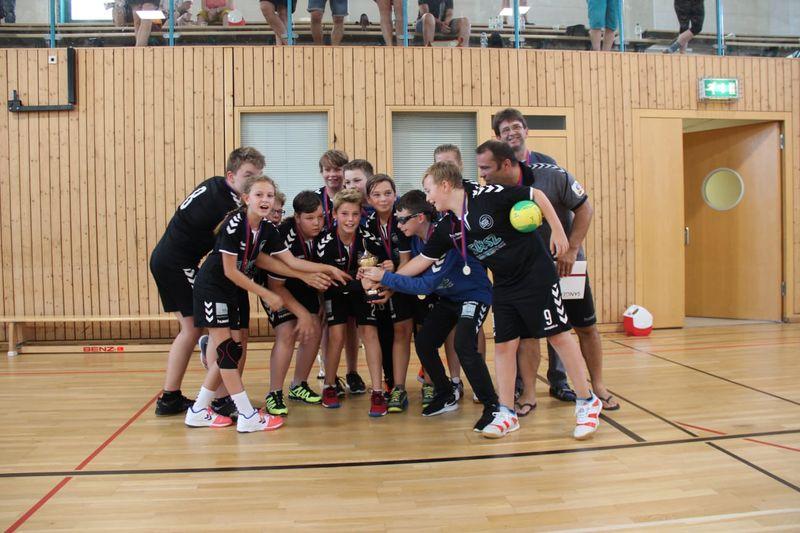 Jugend: 1. Sieg im 1. Spiel der HSG Suhl  D-Jugend