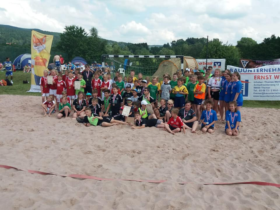 Kein Beachhandball Turnier in Suhl im Juni 2020