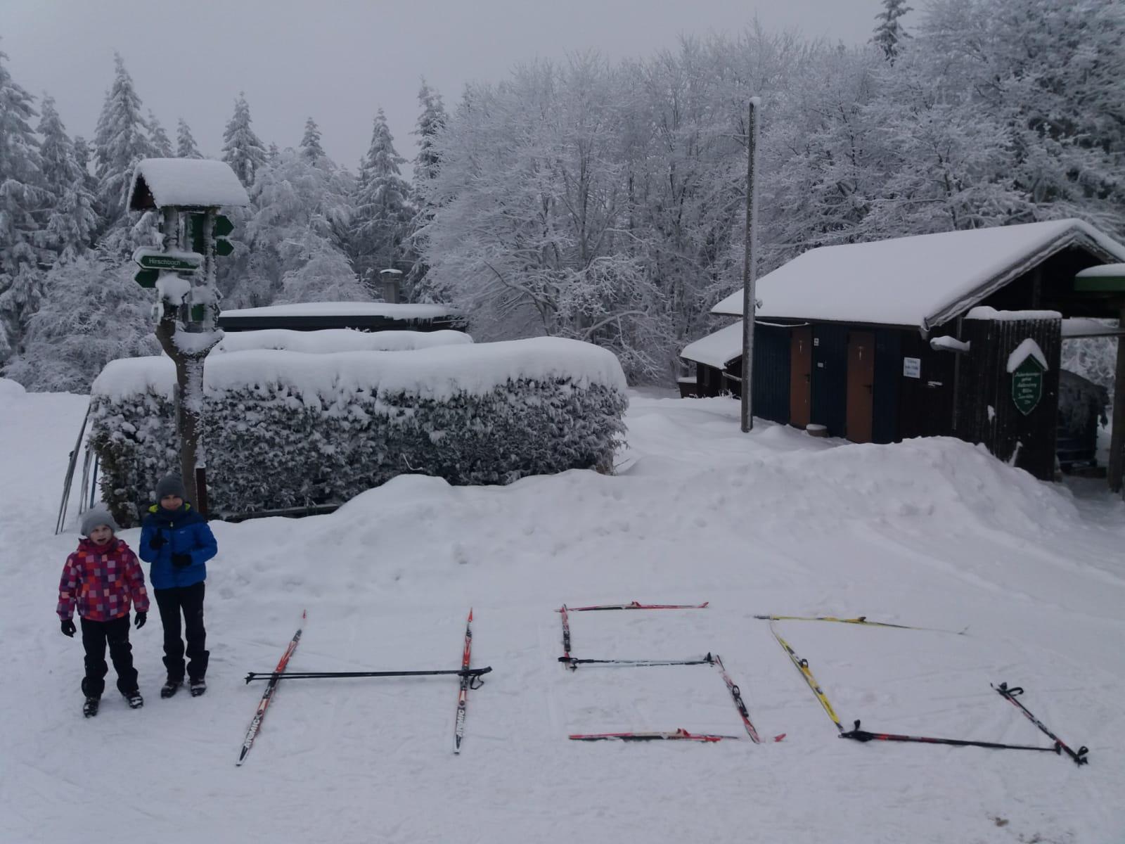 Winter in Suhl mit der HSG ist cool ⛄❄️!!
