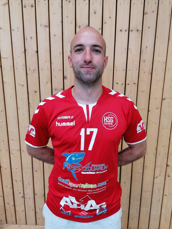 Marko Oluic schließt sich den Suhler Handballern an