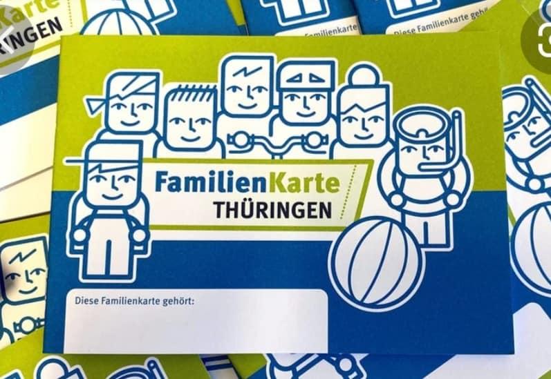 """""""Familienkarte"""" des Thüringer Familienministeriums"""